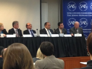 At the SAIS event